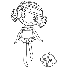 baley sticks n straws coloring pages - Lalaloopsy Coloring Pages