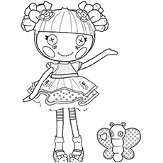 lalaloopsy blossom coloring page to print - Toddler Coloring Sheets Free Printables