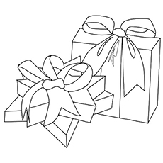 christmas gifts ornament picture - Coloring Pages Christmas Ornaments