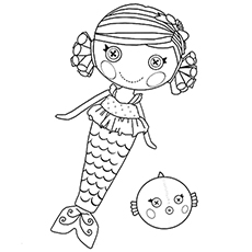 coral sea shells printable lalaloopsy cotton hoppalong coloring pages - Lalaloopsy Coloring Pages