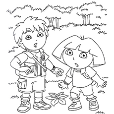 free diago coloring pages - photo#16