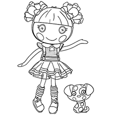 Ember Flicker Flame Jewel Sparkles Graceful Princess Of Lalaloopsy Land Printables Coloring Pages
