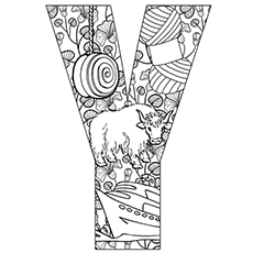 letter y coloring pages Top 10 Free Printable Letter Y Coloring Pages Online letter y coloring pages