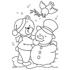 Top 10 Free Printable January Coloring Pages Online