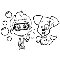 Bubble Guppies Coloring Pages Enchanting Bubble Guppies Coloring Pages  25 Free Printable Sheets Inspiration