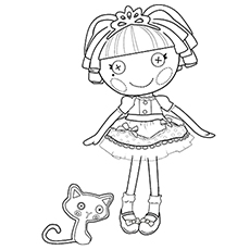 jewel sparkles graceful princess of lalaloopsy land printables coloring pages - Lalaloopsy Coloring Pages