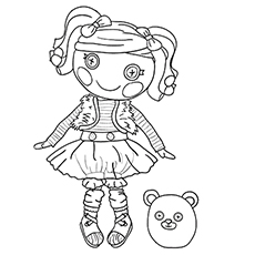 mittens fluff n stuff name based of mittens coloring pages - Coloring Stuff