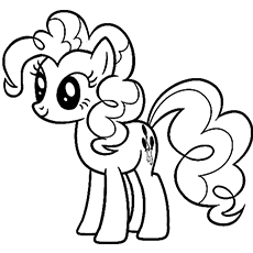 cartoon series of pony princess - Cartoon Coloring Pages Printables
