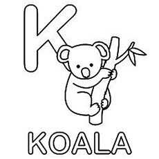 Koala Coloring Pages Free Printables Momjunction - Koalas-coloring-pages