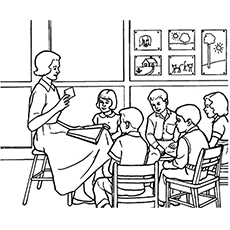 teachers coloring pages Top 10 Free Printable Teacher Coloring Pages teachers coloring pages