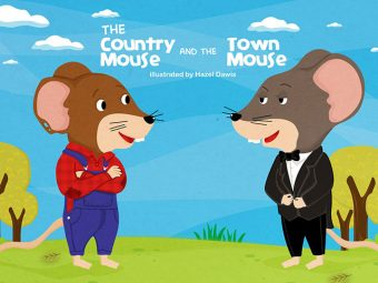 'The Town-Mouse And The Country-Mouse' Story For Your Kids