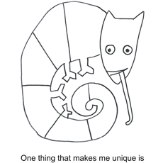 unique - Eric Carle Coloring Pages