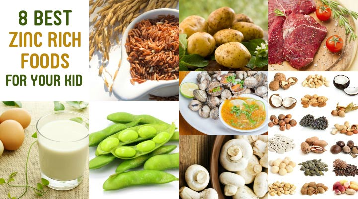 8 best zinc rich foods for kids for Cuisine zinc
