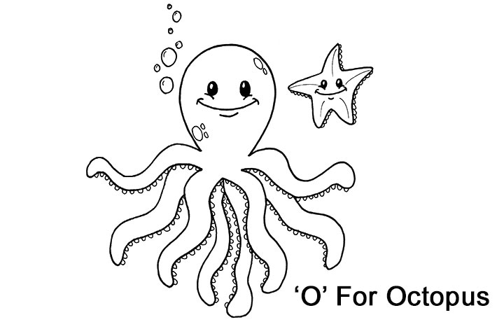 octopus coloring pages eume top