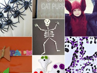 10 Awesome Halloween Crafts & Activities For Toddlers