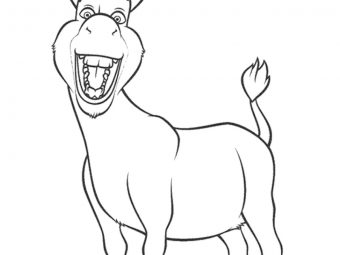 10 Best Donkey Coloring Pages For Your Little Ones