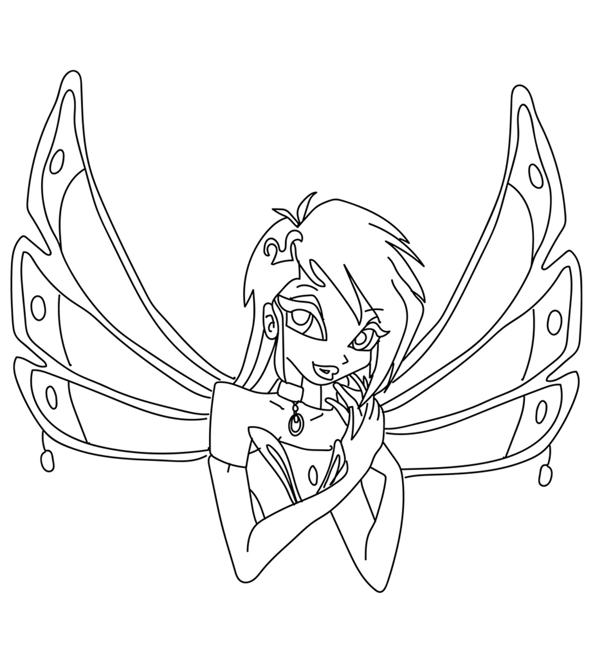 Top 10 free printable winx club coloring pages online