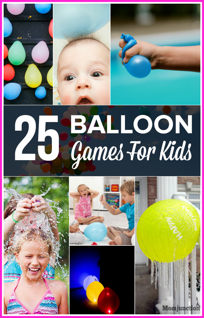 25 balloon games for kids that will fill them with excitement for Fun balloon games for kids
