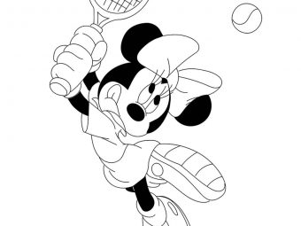 25 Best Tennis Coloring Pages Your Toddler Will Love To Color