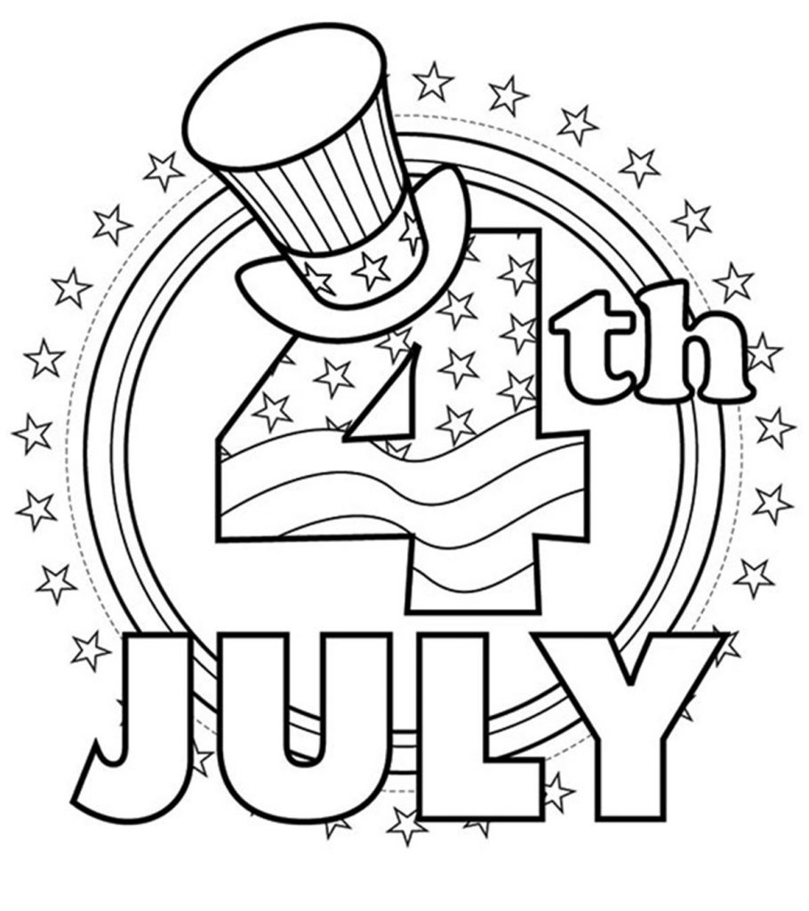 graphic relating to July 4th Coloring Pages Printable named Greatest 35 Cost-free Printable 4th Of July Coloring Webpages On-line