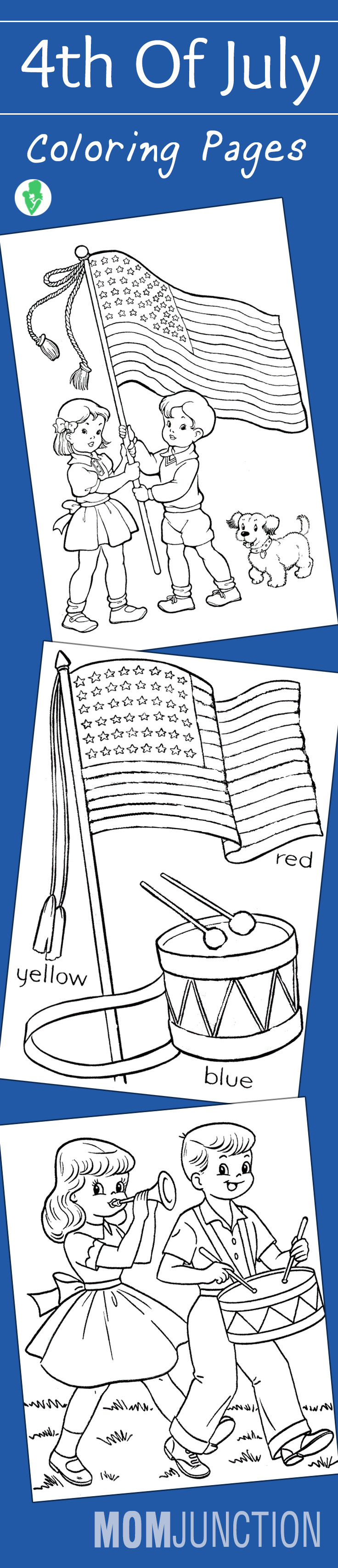 4th of july free printable coloring pages - 4th Of July Free Printable Coloring Pages 34
