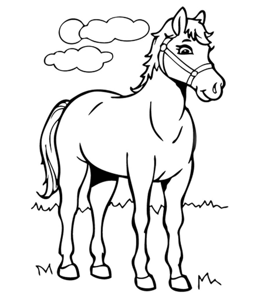 - Top 55 Free Printable Horse Coloring Pages Online