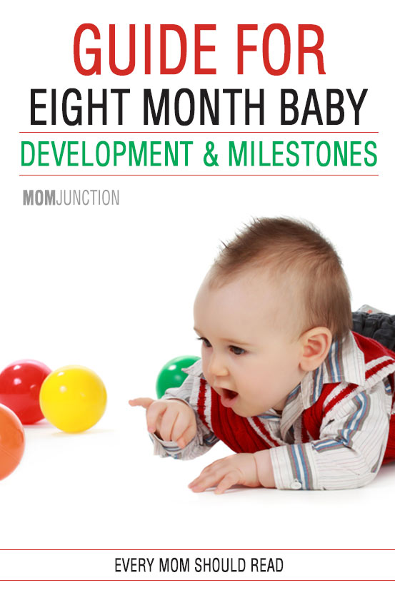 8 month old baby developmental milestones