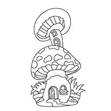 Top 25 Free Pritable Mushroom Coloring Pages Online