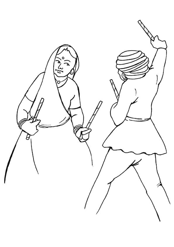 A-Famous-Dandiya-Dance