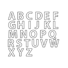 A-Letters-Of-The-English-Alphabet