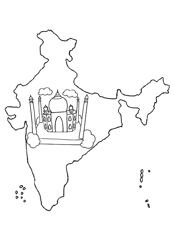 A-Map-Of-India