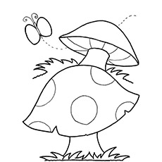 A-Mushroom-Coloring-Pages-shape
