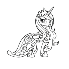 top 55 my little pony coloring pages your toddler will love to color MLP Rarity Shower