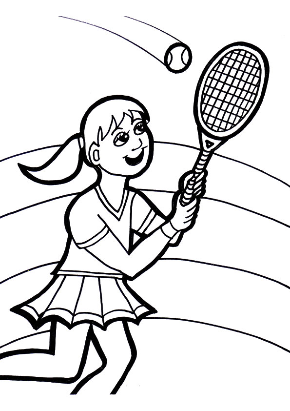 A-girl-playing-tennis