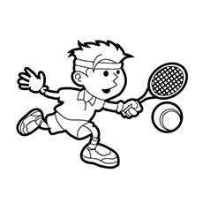 tennis coloring pages Top 25 Free Printable Tennis Coloring Pages Online tennis coloring pages