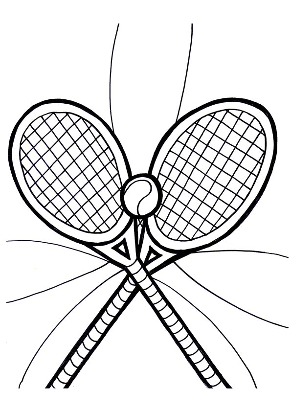 A-tennis-racquets