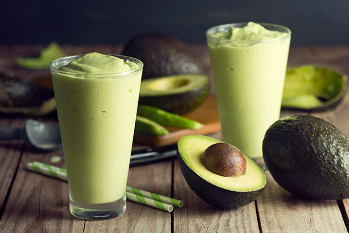Avocado Smoothies For Kids With Pictures