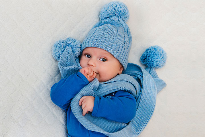 Baby In Winter