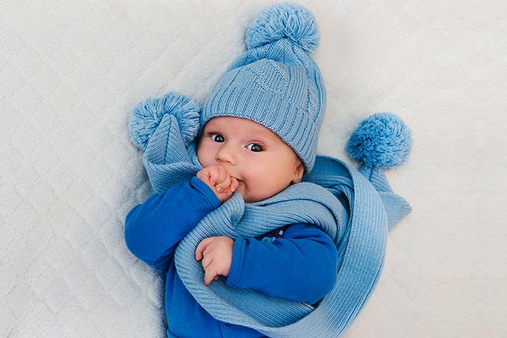 Baby In Winter