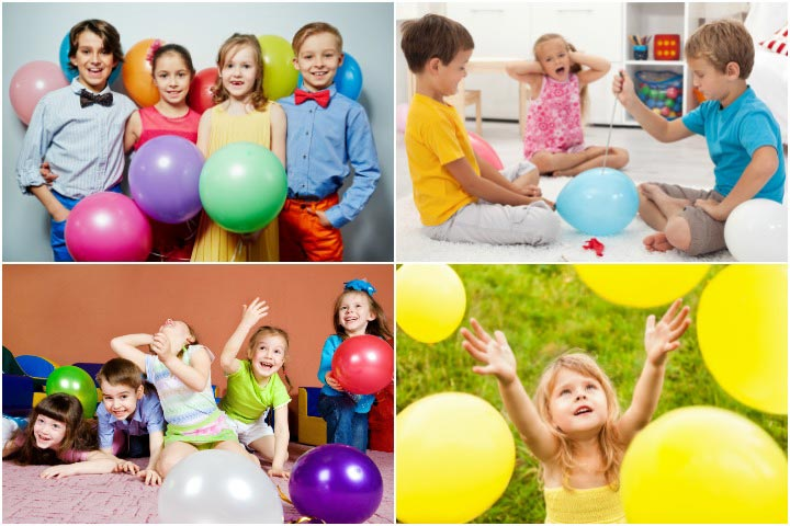 Balloon Games For Kids With Pictures