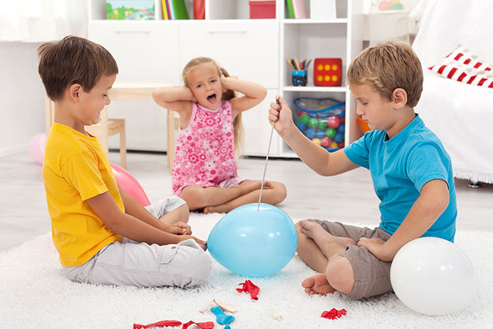Balloon Pop Surprise - balloon games for children Pictures