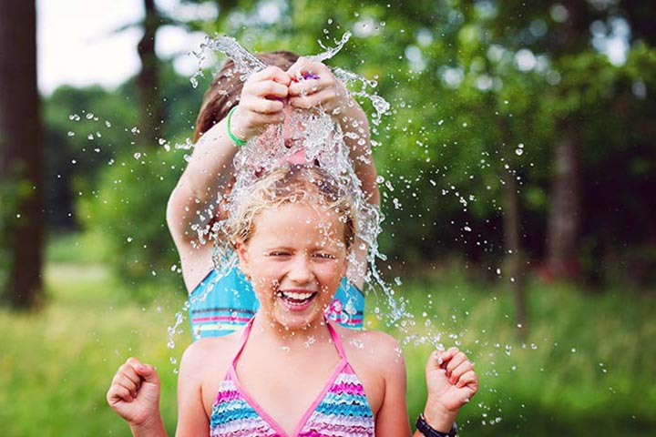 Balloon Water Fight - water balloon games for kids Pictures