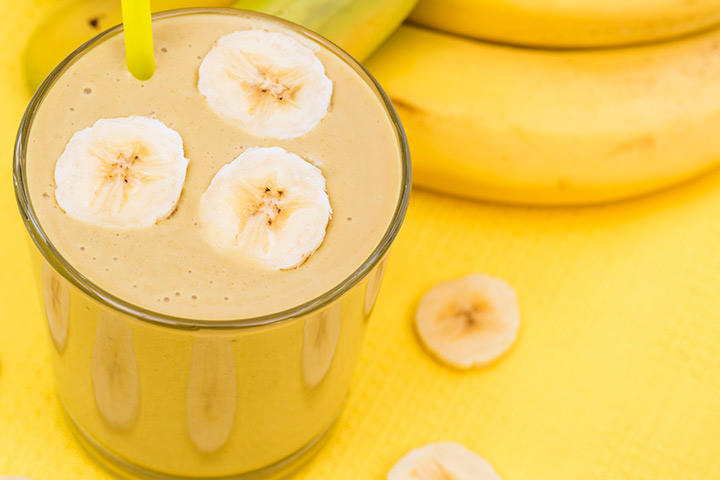 Banana Smoothie Recipe For Kids With Pictures