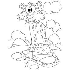 Cheetah-infront-of-cloud