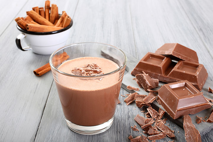 Chocolate Almond Milk Smoothie For Kids