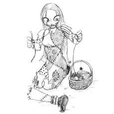coloring pages nightmare before christmas sally