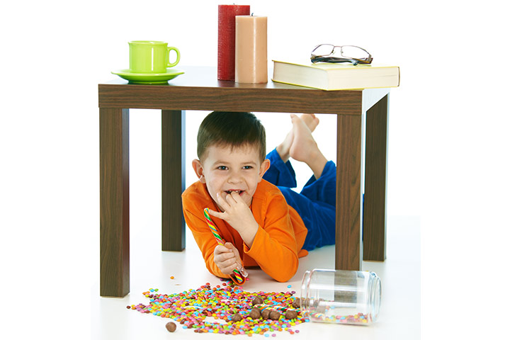 Fun Activities For Kids - Eating Under The Table