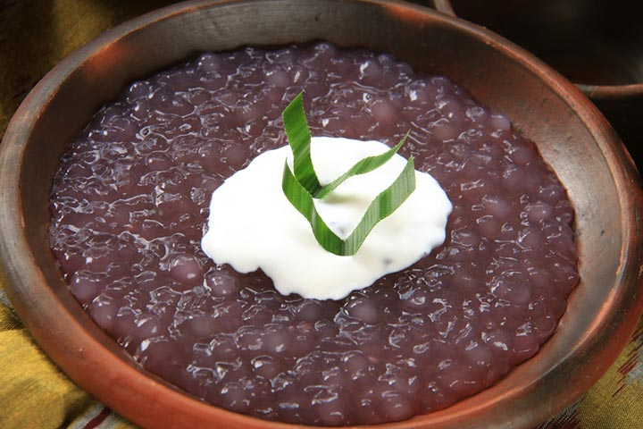 Finger millet (Ragi) and squash porridge