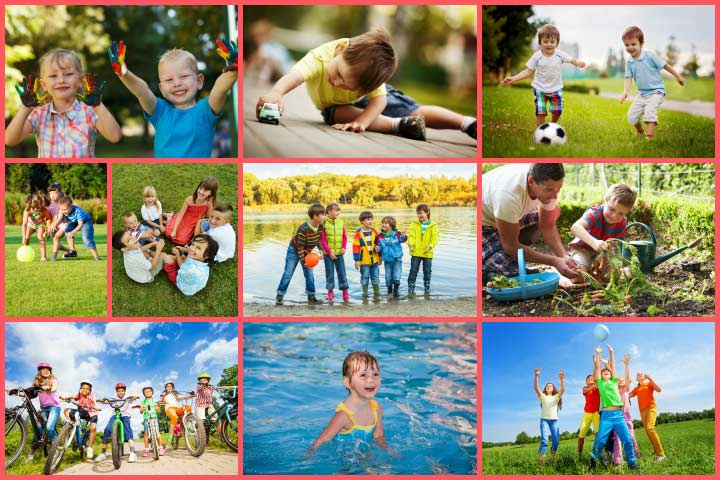 Fun Outdoor Activities For Kids