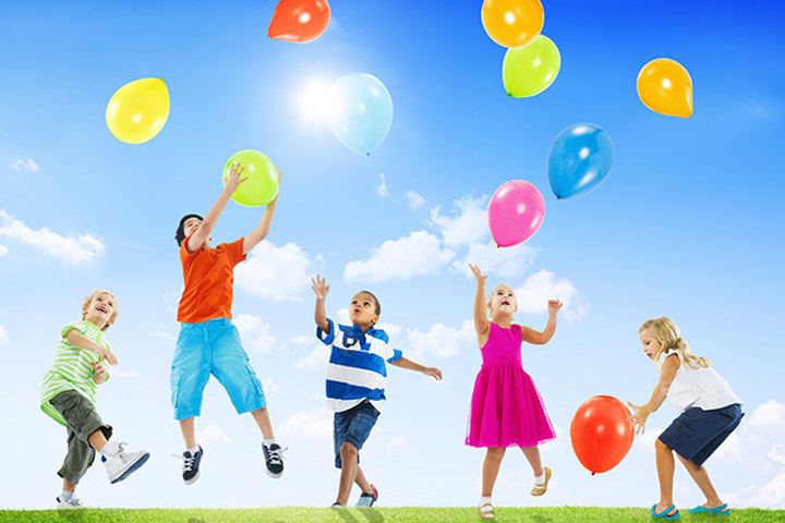 Googly Balloons games for kids indoor Pictures